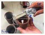Baugerüst-Stützejack-Stahlbaugerüst zerteilt Stütze-Hülse
