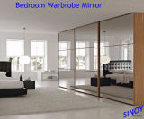 Silver decorativo Mirror Glass per Home e Commercial Interior Applications