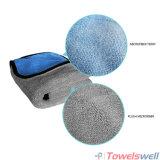 Tissu de nettoyage épais superbe de véhicule de Microfiber de peluche