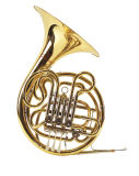 La vente FRENCH HORN/ Laque d'Or/Touche 4 Double/instrument de musique