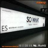 Venda quente Moda de alumínio de tecido caixas de luz LED