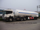 China 2015 LNG Lox Tank Car Semi Trailer met ASME GB