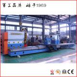 Torno pesado con 2 conjuntos de sistemas de control CNC (CG61250)