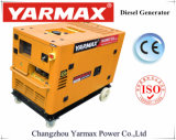 高品質のディーゼル機関を搭載するYarmax Supplir防音の三相10kVA 11kwディーゼルGenset