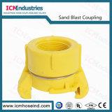 Fornitori dell'accoppiamento di tubo flessibile del Sandblast dello Accoppiamento-Sb del Sandblast del nylon 3/4 ''