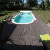 Bois panneau composite en plastique Piscine Flooring WPC Decking