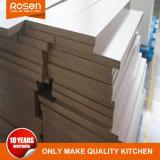 Feuilles de placage de bois Peinture Noir armoire de cuisine