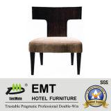 Chaise en bois d'hôtel de meubles de modèle moderne (EMT-HC43)
