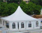 屋外の玄関ひさしガラスPVCナイジェリア党Pogodaの結婚式のテント