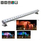 Rondella impermeabile lineare esterna della parete dell'indicatore luminoso 1000mm 40W RGB LED del LED