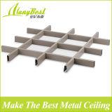 2018 Matériel de construction en aluminium Grille de plafond suspendu