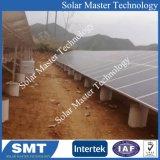 강철 지상 태양 설치 구조