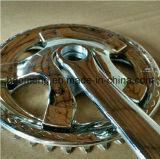 自転車はChainwheelまたはアルミニウムChainwheelのクランクか安いChainwheelおよびクランクを分ける