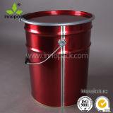 6.5 gallons Metal Buckets Food Grade avec Lock Ring Lid