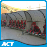 Protection UV Sports Bench/Player Bench com o Shelter para Todo Sports