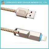 Umsponnener multi aufladenkabel Mikro-Nylontyp c-Kabel USB-3.1