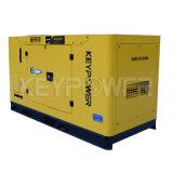 Quatre cylindres 20kVA Groupe électrogène Diesel avec auvent silencieux