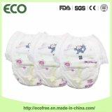 Econômico com as calças do treinamento do bebê de Clothlike Backsheet levantar o tecido do bebê