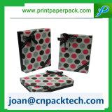 Коробка цветастых многоточий конкурентоспособной цены бумажная