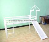성곽 2단 침대, 중앙 슬리퍼 침대, 성곽 활주 침대