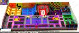 Olympisches Standardgebäude-Innentrampoline mit Schaumgummi-Vertiefung, Ausweichen-Kugel, Korb-Kugel