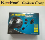 Motorcyle Bluetooth Intercom para celular e MP3