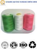 hilo de coser 100% de la materia textil del bordado del poliester de la Caliente-Venta 120d/2