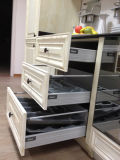 Gabinetes de cozinha em madeira maciça de cinza chinês