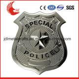 Intagliando il metallo materiale in lega di zinco di tecnologia la polizia Badge