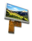 4.3 ``접촉 위원회를 가진 TFT 모듈 480*272 LCD 표시판