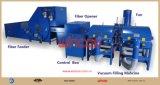 Abridor de fibra / máquina automática de enchimento de fibra de travesseiro