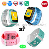 Relógio esperto do perseguidor do GPS dos miúdos os mais novos de 3G/WiFi Digitas com SOS