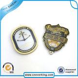 Insigne de sécurité en émail doux OEM Broche en métal personnalisée