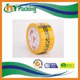 BOPPはテープによってカスタマイズされたロゴの付着力のパッキングテープを印刷した