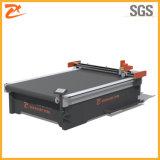 Caja de cartón ondulado automático que hace la máquina de corte y plegado