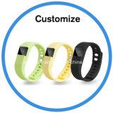 Forma fisica sana di sport che segue il braccialetto astuto di Bluetooth Cicret