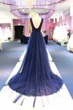 В шею кружева линию вечер устраивающих платье партии платье Wgf152