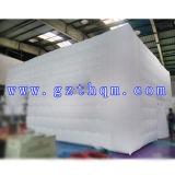 Professionelle aufblasbare Luftblasen-kampierendes Zelt/weiße Dekoration-aufblasbares Luftblasen-Zelt