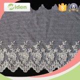 Flor de nylon tela del cordón del bordado del cordón del bordado de piedra
