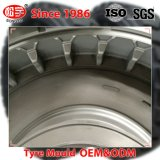 Dos piezas de acero 12.00-20 personalizada neumático radial del molde para neumáticos cargador