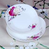 Nuovo piatto del piatto di ceramica del padellame di Cina di osso
