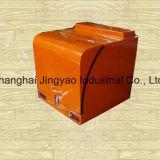Caixa de entrega de comida de motocicleta com mola de gás de compressão e de grande volume