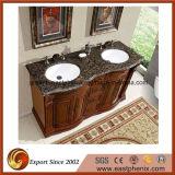 Dessus en gros de vanité de quartz pour la salle de bains