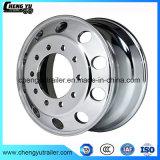 Tipo forjado borda do disco da roda 22.5X9.0 da liga de alumínio da roda do caminhão