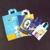 Alta calidad, colorido, características y la impresión de ir de compras la bolsa de plástico