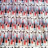 45s imprimiu a planície da tela de rayon tecida fornecida por Fabricante