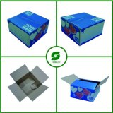 Farbenreiches Drucken-gewölbter Verpackungs-Kasten