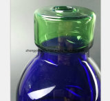 전자총 기름 복구 관의 파란 유리병 수관