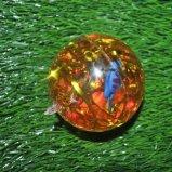 Alta bola que despide cristalina de la bola del brillo de la bola de goma del brillo que contellea que despide