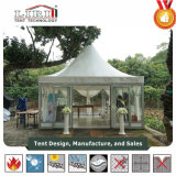 tenda del Pagoda di 10m*10m con il tessuto trasparente del PVC per la tenda del partito